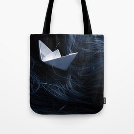 On troubled waters Tote Bag