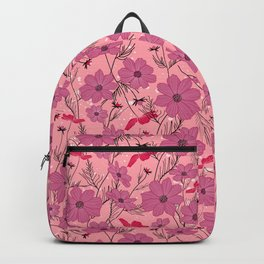 Cosmea lilac Backpack