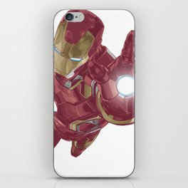 Ironman Super Character Design in Vector iPhone Skin
