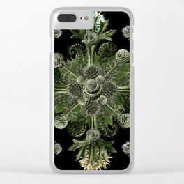 Green World Clear iPhone Case