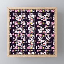 FDS black Framed Mini Art Print