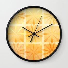Citrus Burst Wall Clock