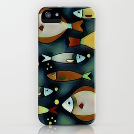 Fish Are Gonna Fish iPhone Case