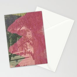 feeling pink on chapel street Stationery Cards