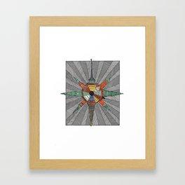 kopenhagen Framed Art Print