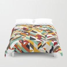 Native Geometric Duvet Cover