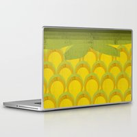 pineapple Laptop & iPad Skins featuring Pineapple by Kakel
