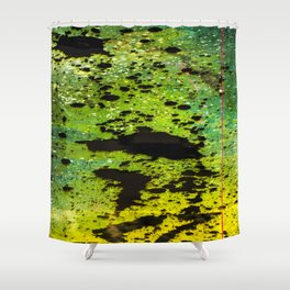 Toxic Dimension  Shower Curtain