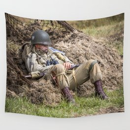 Time out. Wall Tapestry