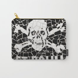 """St Pauli"" Unique mosaic Carry-All Pouch"