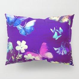 Night Butterflies Pillow Sham
