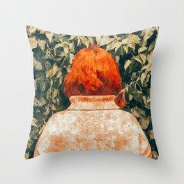 Surprise Visit Throw Pillow
