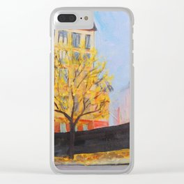 Stockholm Gamla Stan Clear iPhone Case