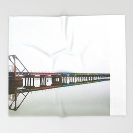 Graffiti Bridge Throw Blanket