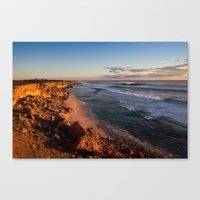 west coast Canvas Prints featuring West Coast by Kyle Moreno