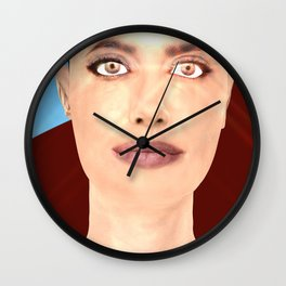 Story Of a Woman: Let's Look Further Wall Clock