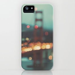 San Francisco Golden Gate Bridge, Sweet Light iPhone Case