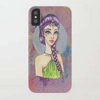 princess iPhone & iPod Cases featuring Princess by Lagoonartastic