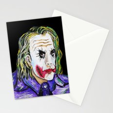 Gotham is Mine - Heath Ledger as The Joker Stationery Cards