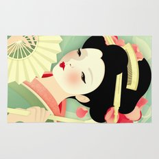 Geisha: Rose Rug