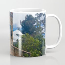 Mount Monserrate at Christmastime Maybe, Bogota, Colombia Coffee Mug