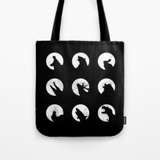 Wolf's Night Off Tote Bag