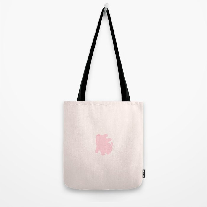 Rosa Snobby Graphic (Pink) Tote Bag