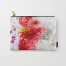 Watercolor Chicken, Chicken Painting, Chicken Decor, Chicken Art, Chicken Design, Hen Carry-All Pouch