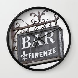 Firenze - Tuscany Wall Clock