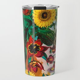 Multicolor Exotic Pattern Travel Mug