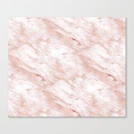 Grandiose rose gold marble Canvas Print