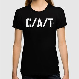 C/A/T WHITE T-shirt