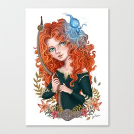 Merida (Brave) Canvas Print