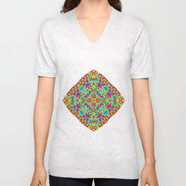 Four Owls Mandala Unisex V-Neck