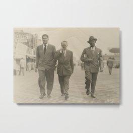Boardwalk Boys - Vintage Photo Metal Print
