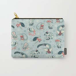 Winter herps Carry-All Pouch