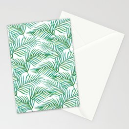 Palm Leaves_Bg White Stationery Cards