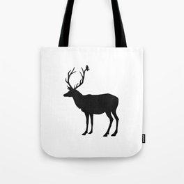 Black & White - Buck and Bird Tote Bag