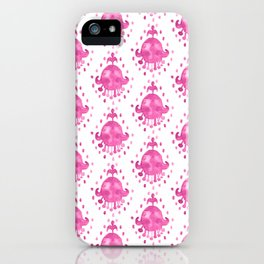 Izzie Pink iPhone Case