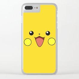 CUTEPIKACHU Clear iPhone Case