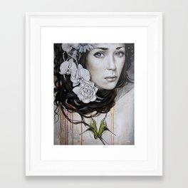 Lâcher prise Framed Art Print