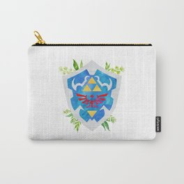 One Shield to Hyrule Them All Carry-All Pouch