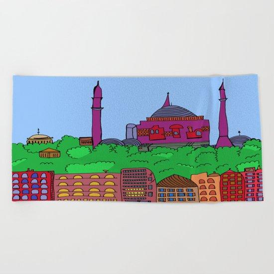 Istanbul Beach Towel