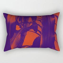 Exotic Duotone Rectangular Pillow