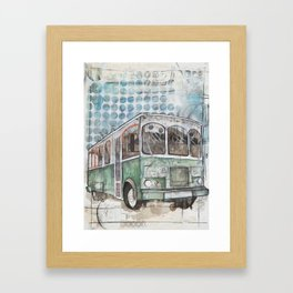 Hop on Framed Art Print