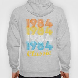 33rd Birthday Gift Vintage 1984 T-Shirt for Men & Women T-Shirts and Hoodies Hoody