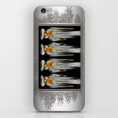 Snow Puff Abstract iPhone & iPod Skin