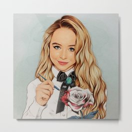 Sabrina Carpenter Metal Print