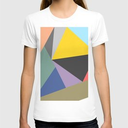 Vibrant Bohemian Geometric Shapes T-shirt