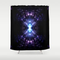 portal Shower Curtains featuring Portal by TenelArt